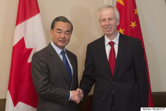 Stephane Dion Wang Yi