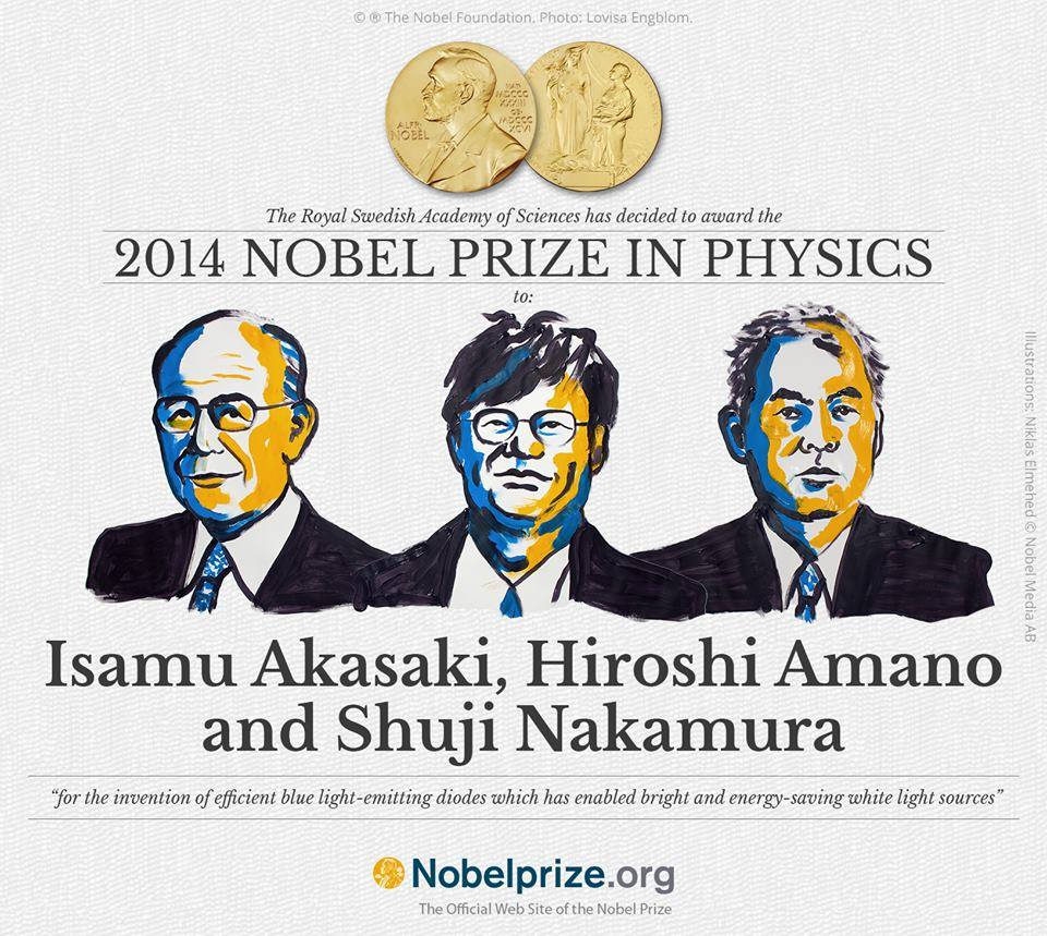 Nobel physics 2014